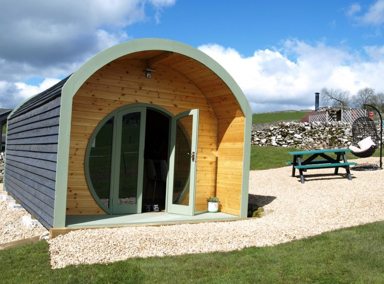 Skylark Pod At Hoe Grange Holidays