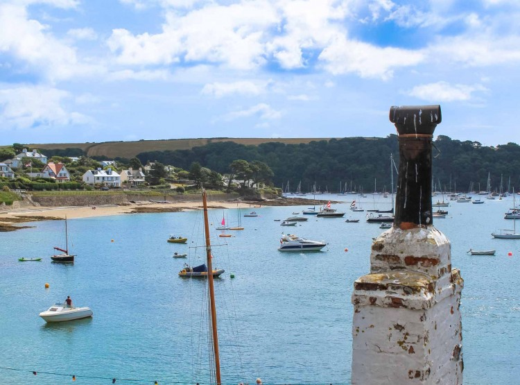 Harbour Retreat In St Mawes