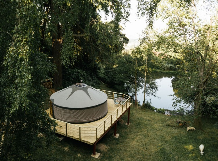 Harvest Moon Yurt At Walcot Hall