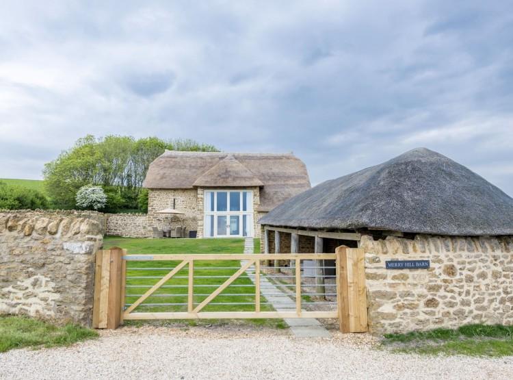 Merry Hill Barn At Portesham