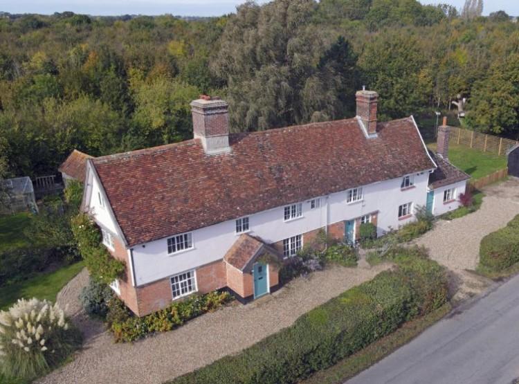 Hill Farm House  In Huntingfield