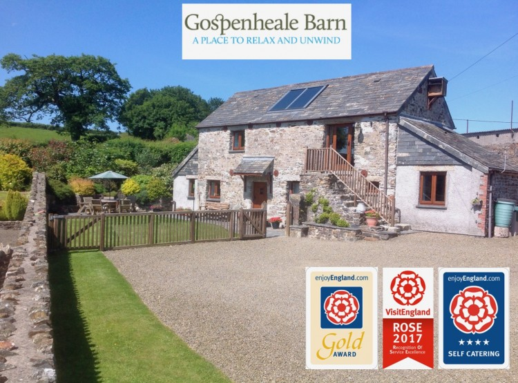 Gospenheale Barn, Near Launceston, North Cornwall