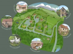 Plan of our hamlet
