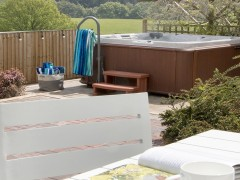 The Manor's Private Hot Tub