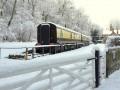 Snowy scene @ guest's gate