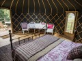 Crazy Horse Yurt At Walcot Hall