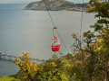 Cable cars in Llandudno