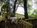 Secret picnic tree platform