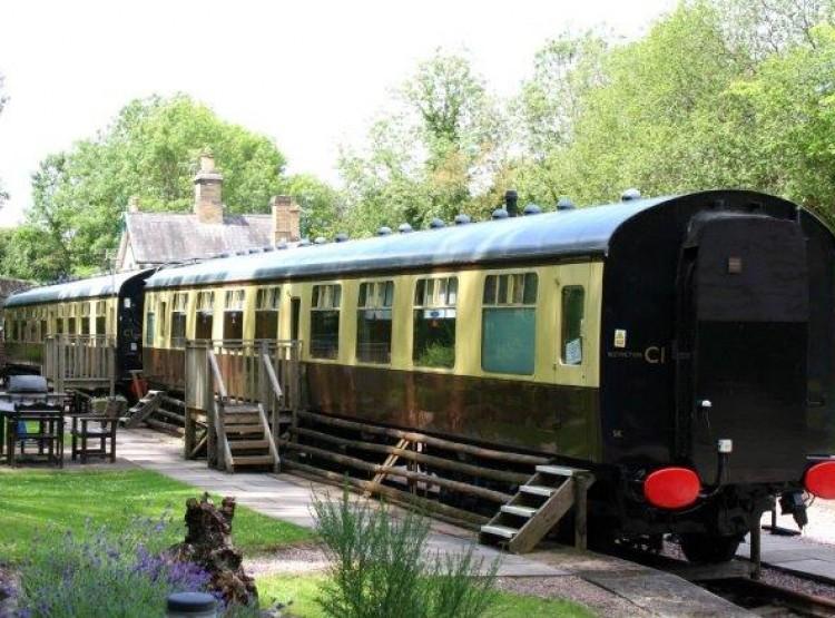 Coalport Station Holidays- Carriage 1