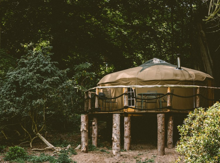 After The Gold Rush Yurt At Walcot Hall