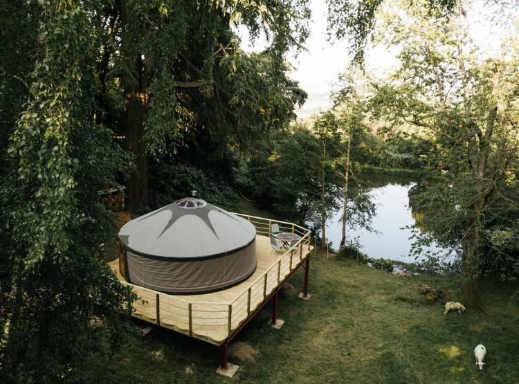 Harvest Moon Yurt At Walcot Hall