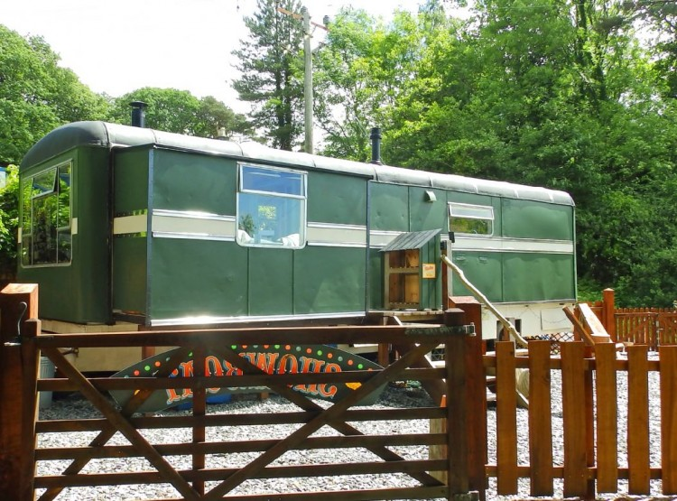 Showman's Wagon In Bontddu