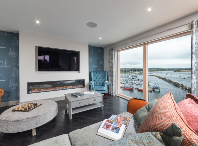 The Penthouse In Amble