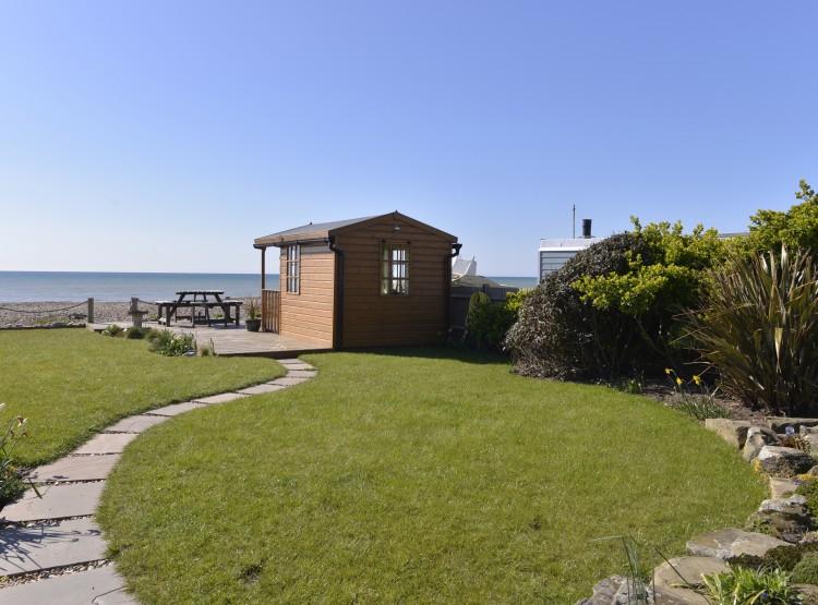 Beach Garden At Pevensey Bay