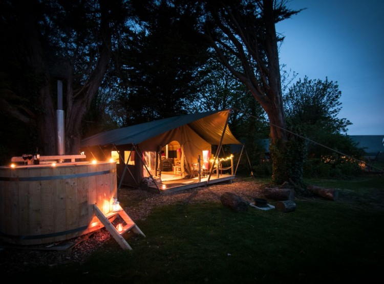 Safari Tent  At Tom's Eco Lodge