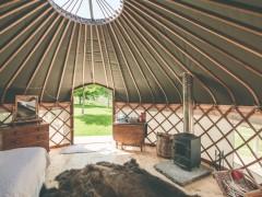 Heart Of Gold Yurt At Walcot Hall