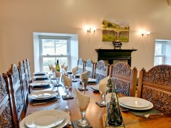 The stunning dining table