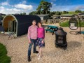 Skylark Pod At Hoe Grange Holidays