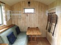 Marjorie Shepherd 's Hut  At Lancombe Country Cottages