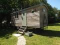 Ezmerelda Shepherd 's Hut  At Lancombe Country Cottages