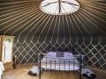 Crazy Horse Yurt At Walcot Hall