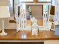 Dressing table in the twin