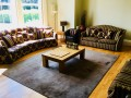 Spacious lounge with Sky TV