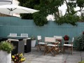 Rear terrace with BBQ