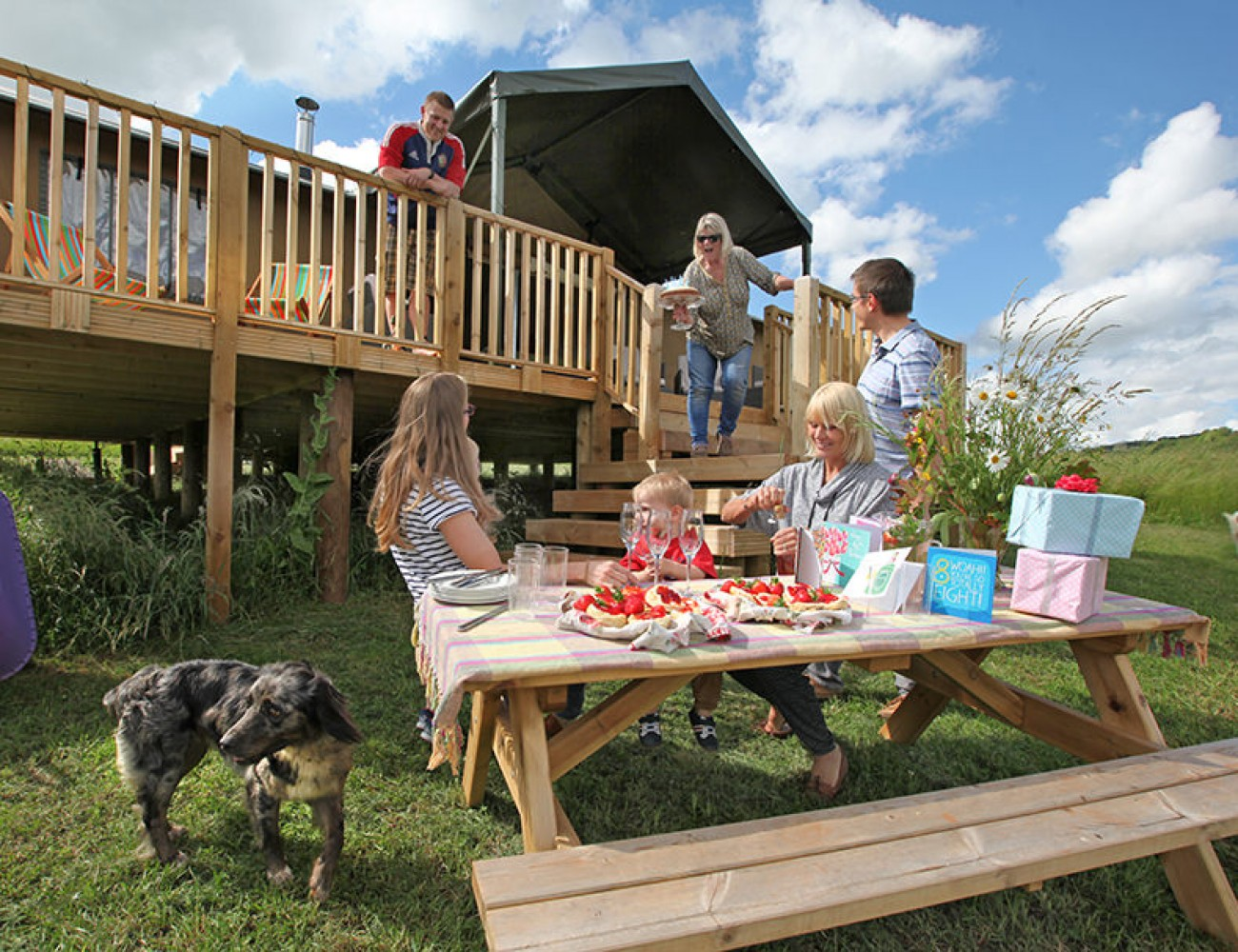 Kittisford Barton Glamping Unique Holiday Cottages